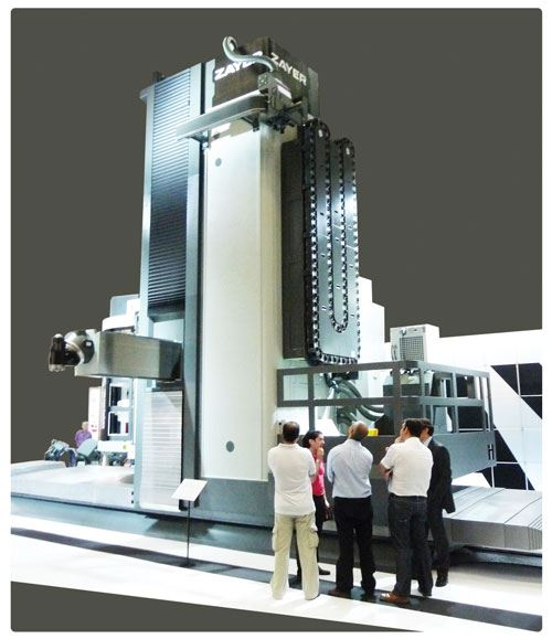 Zayer KCU30 traveling column machine from Republic Lagun
