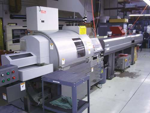 Citizen E216 Swiss-type lathe