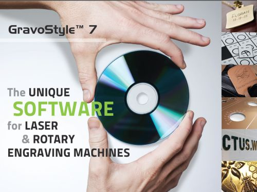 GravoStyle version 7 professional CAD/CAM engraving platform from Gravograph