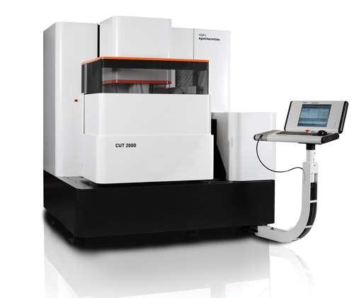 GF AgieCharmilles CUT 2000 wire-cutting EDM machine