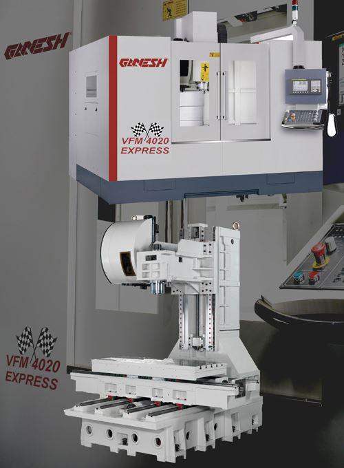 Ganesh VFM 4020 Express vertical machining center