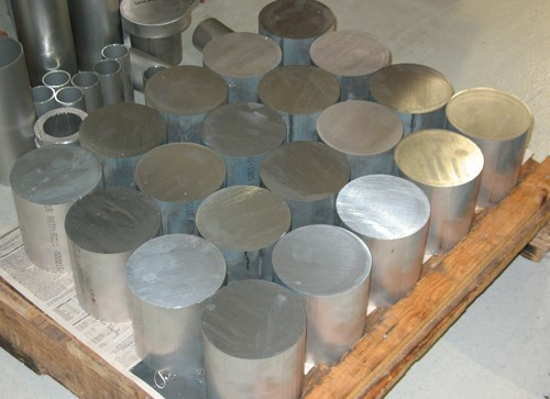 round aluminum stock