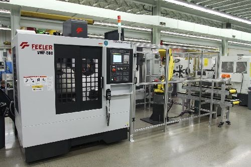 Methods Machine Tools automation cell