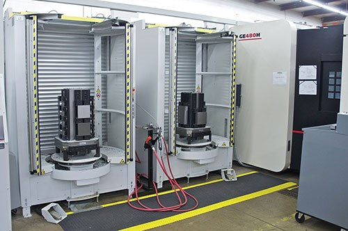 TRD uses and Enshu HMC to produce more than 450 different parts