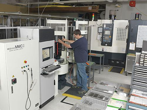 a51 horizontal machining center and MMC2 pallet handling system
