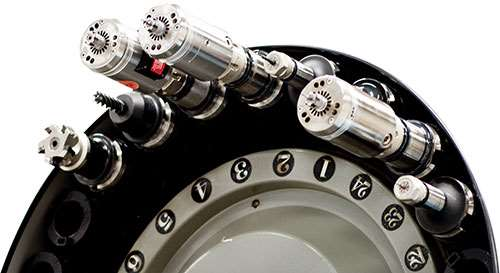compact high-speed spindle