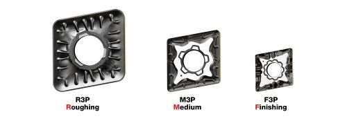 Iscar F3P, M3P, R3P chipformers