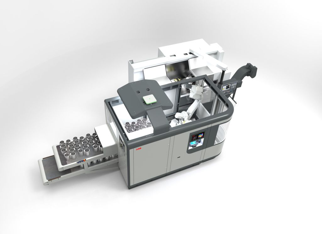 FlexMT machine tending system from ABB Robotics