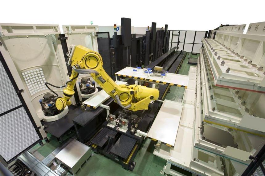 Makino's MMC-R automation system