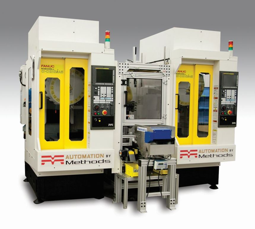 Methods Machine Tools Twin RoboDrill JobShop Cell
