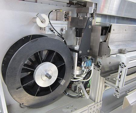 wire spool-feeding system