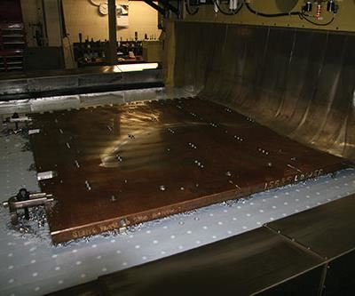 clamping plate on Annihilator table