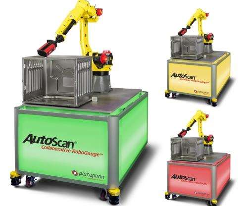 Perceptron AutoScan Collaborative RoboGauge