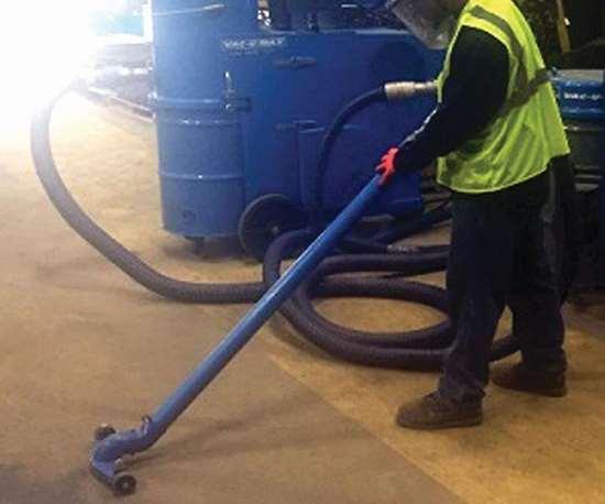 cleaning blast media