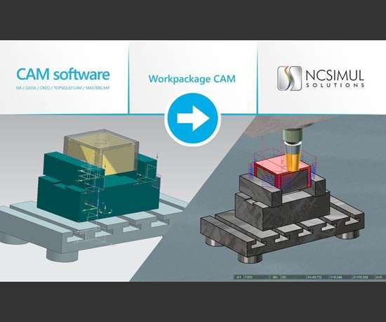 Spring Technologies CAM WorkPackages NCSIMUL 4CAM