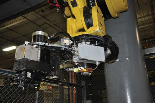 tiered grippers on a robot