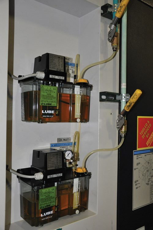 pump for machine lubrication
