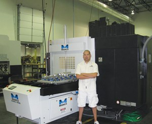 VMC with pallet system