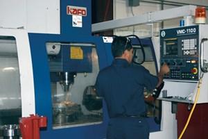HL-55 CNC lathe