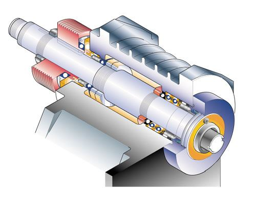 High torque spindle motor