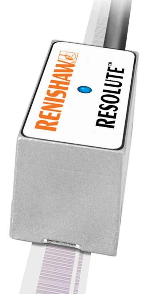Renishaw Resolute absolute optical encoder