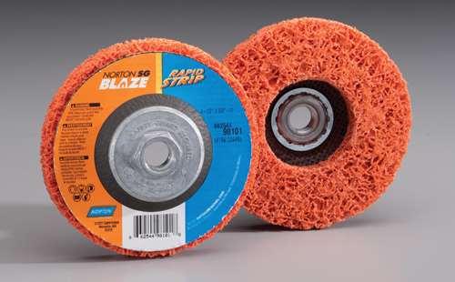 Norton Abrasives SG Blaze Rapid Strip discs