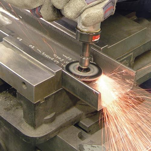 Weiler BobCat abrasive flap discs