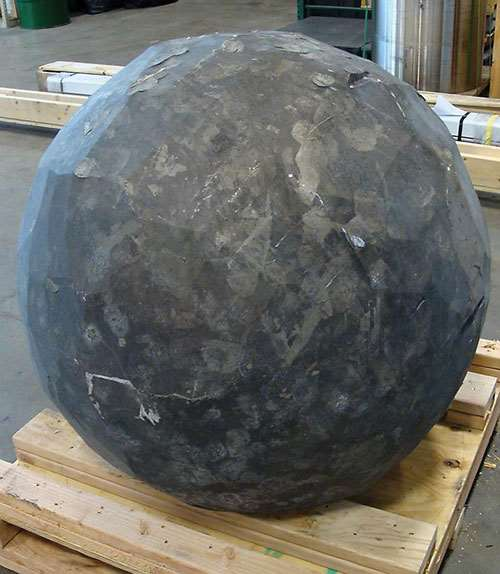 forged aluminum sphere