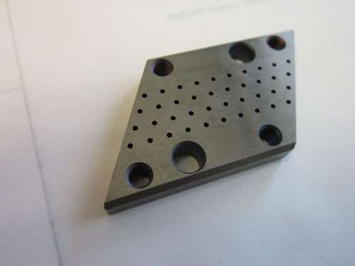 insert for a perforating die