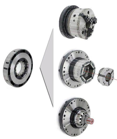 Hainbuch centroteX quick-change workholding interface