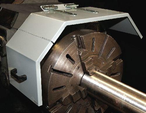 Danray heavy duty steel lathe chuck shield