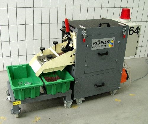 Rosler RMO mobile trough machine