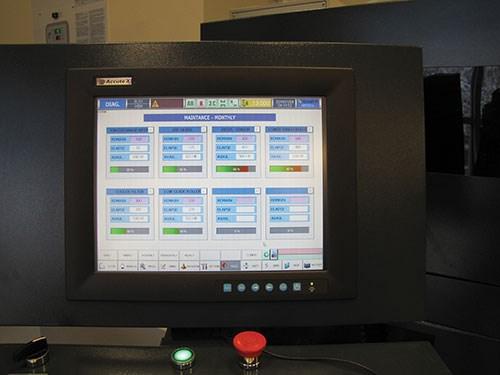 maintenance screen