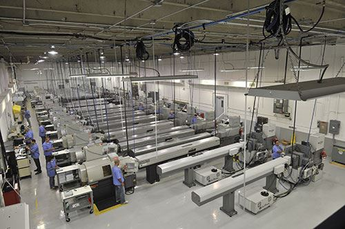 3D Medical Manufacturing machine floor