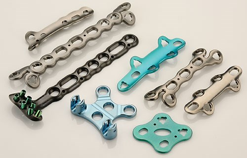 titanium implantables