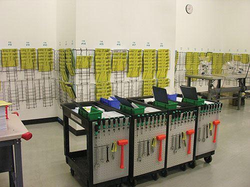 3D Medical Manufacturing job cart