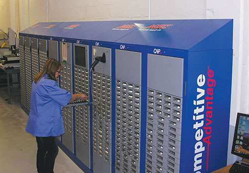 MSC Industrial tool vending system