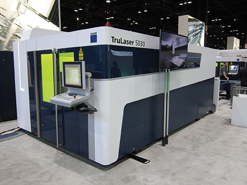 Trumpf's BrightLine fiber laser-cutting technology