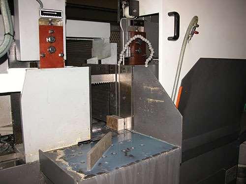 Pat Mooney's Danobat DS 3A horizontal fully automatic band saw machine