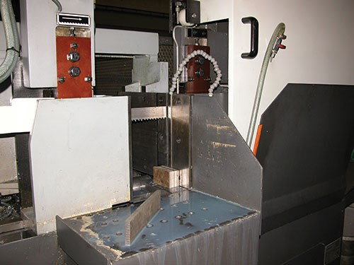 Pat Mooney's Danobat DS 3A horizontal fully automatic band saw machine