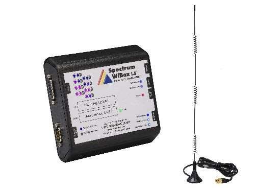Spectrum CNC Technologies WiBox 1.5 machine data collection and bi-directional communication device