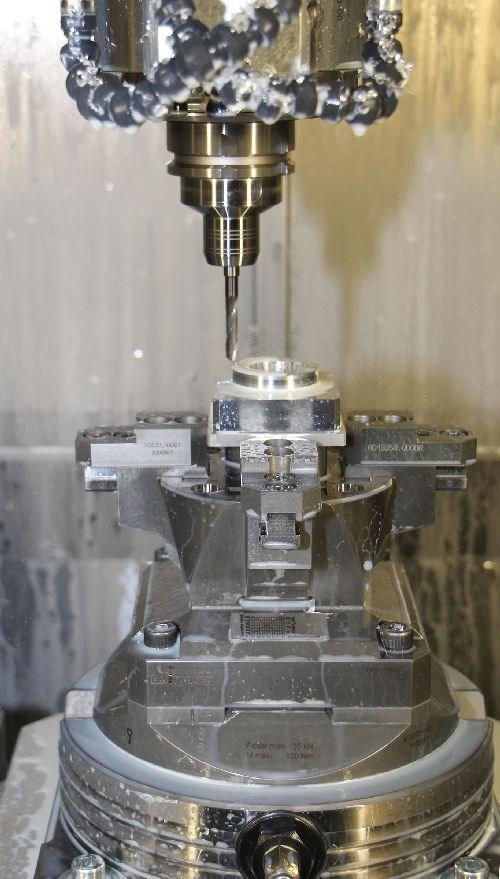 Hainbuch Quadrok plus clamping system