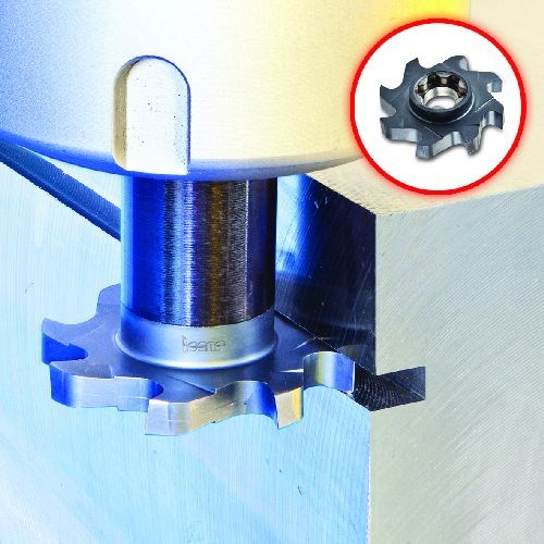 Iscar SD-SP15 narrow slotting and groove milling cutters
