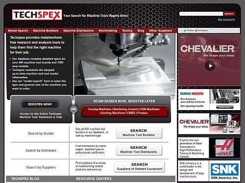 Techspex updated website