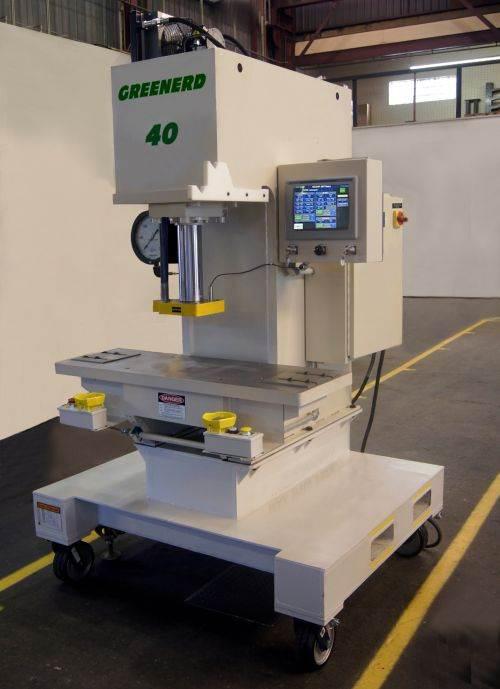 Greenerd Press & Machine HPBS-40 bench-type, C-frame hydraulic press