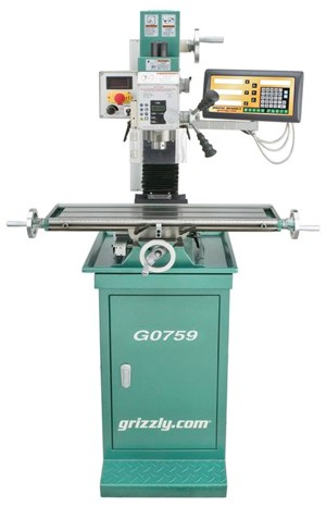 Grizzly G0759 mill/drill