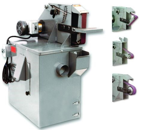 The model S272V belt grinder from Kalamazoo Industries offers a 2