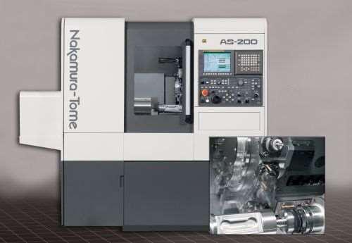 Methods Machine Tools Nakamura-Tome AS-200 multitasking machine