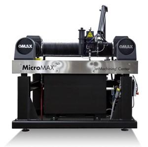 Omax MicroMax Jetmachining Center