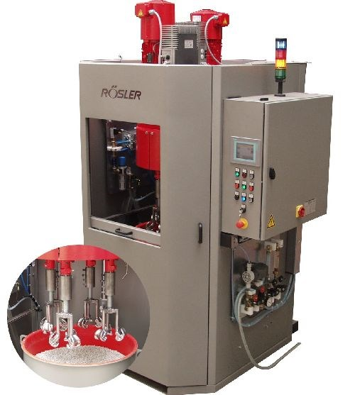 Rosler Metal FInishing R-SF mini-drag machine